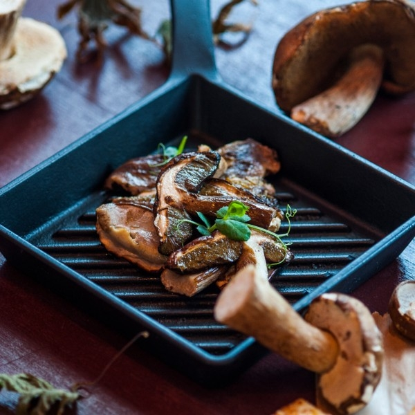 It's porcini mushroom season at Le Bistro!